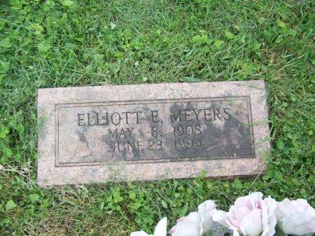 MEYERS, ELLIOTT E. - Lawrence County, Ohio | ELLIOTT E. MEYERS - Ohio Gravestone Photos