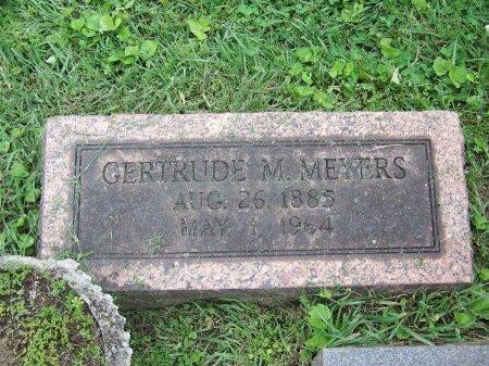 MEYERS, GERTRUDE M. - Lawrence County, Ohio | GERTRUDE M. MEYERS - Ohio Gravestone Photos