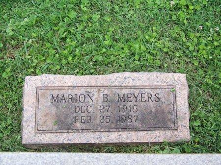 MEYERS, MARION B. - Lawrence County, Ohio | MARION B. MEYERS - Ohio Gravestone Photos