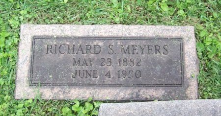 MEYERS, RICHARD S. - Lawrence County, Ohio | RICHARD S. MEYERS - Ohio Gravestone Photos