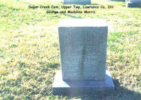 MORRIS, GEORGE - Lawrence County, Ohio | GEORGE MORRIS - Ohio Gravestone Photos
