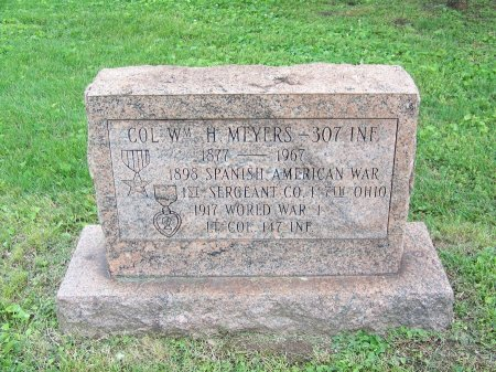 MYERS (VETERAN TWO WARS), WILLIAM H. - Lawrence County, Ohio | WILLIAM H. MYERS (VETERAN TWO WARS) - Ohio Gravestone Photos