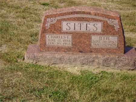 SITES, ILA (ILLIE) - Lawrence County, Ohio | ILA (ILLIE) SITES - Ohio Gravestone Photos