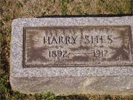 SITES, HARRY - Lawrence County, Ohio | HARRY SITES - Ohio Gravestone Photos