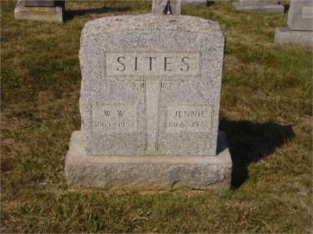 LARGE SITES, JENNIE IRENE - Lawrence County, Ohio | JENNIE IRENE LARGE SITES - Ohio Gravestone Photos