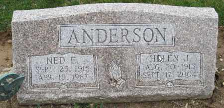 ANDERSON, HELEN J - Licking County, Ohio | HELEN J ANDERSON - Ohio Gravestone Photos