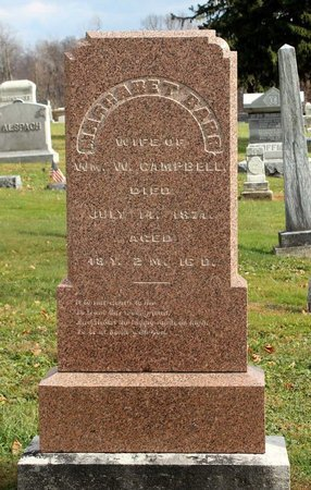CAMPBELL, MARGARET - Licking County, Ohio | MARGARET CAMPBELL - Ohio Gravestone Photos