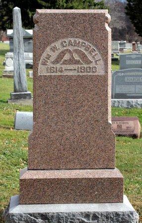 CAMPBELL, WILLIAM W. - Licking County, Ohio   WILLIAM W. CAMPBELL - Ohio Gravestone Photos
