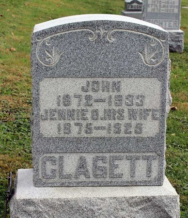 CLAGETT, JOHN - Licking County, Ohio | JOHN CLAGETT - Ohio Gravestone Photos