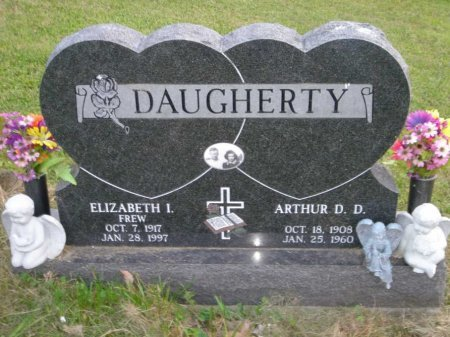 DAUGHERTY, ELIZABETH ISABELLE - Licking County, Ohio | ELIZABETH ISABELLE DAUGHERTY - Ohio Gravestone Photos