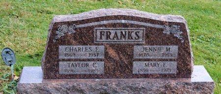 FRANKS, TAYLOR C. - Licking County, Ohio | TAYLOR C. FRANKS - Ohio Gravestone Photos
