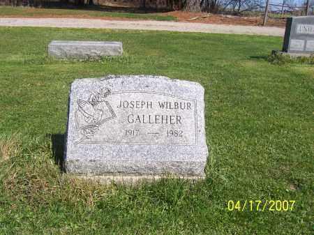 GALLEHER, JOSEPH WILBUR - Licking County, Ohio | JOSEPH WILBUR GALLEHER - Ohio Gravestone Photos