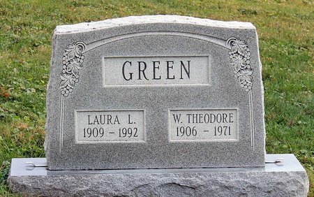 GREEN, WILLIAM THEODORE - Licking County, Ohio | WILLIAM THEODORE GREEN - Ohio Gravestone Photos