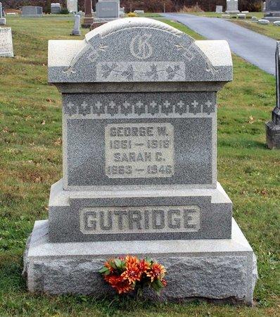 GUTRIDGE, SARAH C. - Licking County, Ohio | SARAH C. GUTRIDGE - Ohio Gravestone Photos