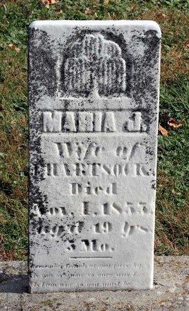 HARTSOCK, MARIA J. - Licking County, Ohio | MARIA J. HARTSOCK - Ohio Gravestone Photos