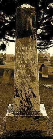 KREAGER, CYNTHIA - Licking County, Ohio   CYNTHIA KREAGER - Ohio Gravestone Photos