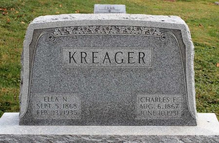 KREAGER, CHARLES F. - Licking County, Ohio | CHARLES F. KREAGER - Ohio Gravestone Photos