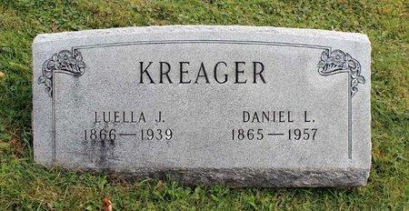 KREAGER, LUELLA J. - Licking County, Ohio   LUELLA J. KREAGER - Ohio Gravestone Photos