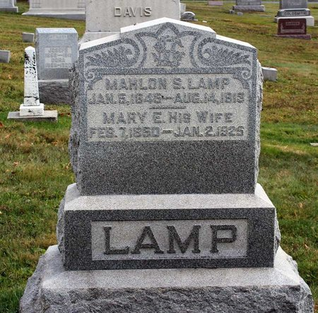 LAMP, MARY E. - Licking County, Ohio | MARY E. LAMP - Ohio Gravestone Photos