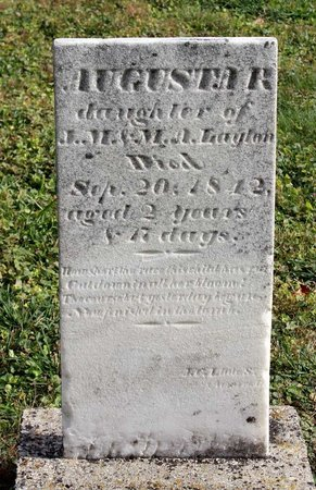 LAYTON, AUGUSTA R. - Licking County, Ohio   AUGUSTA R. LAYTON - Ohio Gravestone Photos