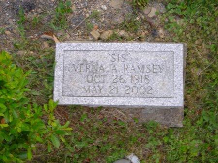 "REINBEAU RAMSEY, VERNA ""SIS"" ALETHIA - Licking County, Ohio | VERNA ""SIS"" ALETHIA REINBEAU RAMSEY - Ohio Gravestone Photos"