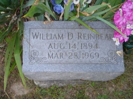 REINBEAU, WILLIAM DAVID - Licking County, Ohio | WILLIAM DAVID REINBEAU - Ohio Gravestone Photos