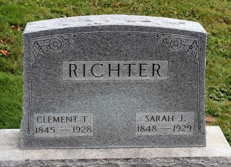RICHTER, CLEMENT T. - Licking County, Ohio | CLEMENT T. RICHTER - Ohio Gravestone Photos