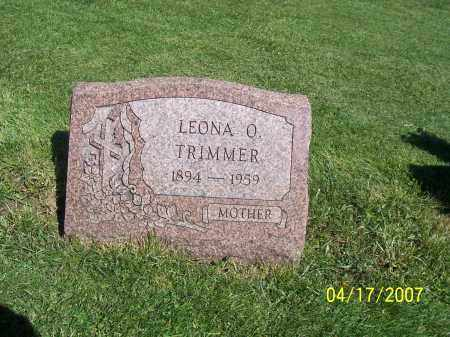 TRIMMER, LEONA O - Licking County, Ohio | LEONA O TRIMMER - Ohio Gravestone Photos