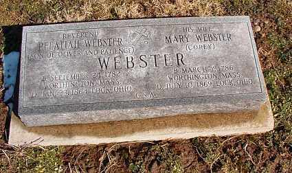 COREY WEBSTER, MARY - Licking County, Ohio | MARY COREY WEBSTER - Ohio Gravestone Photos