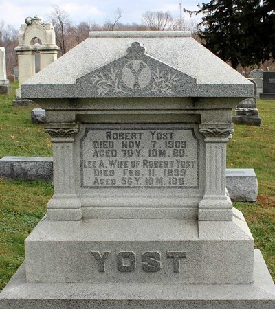 YOST, LEE A. - Licking County, Ohio | LEE A. YOST - Ohio Gravestone Photos