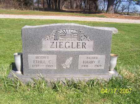 ZIEGLER, ETHEL C - Licking County, Ohio   ETHEL C ZIEGLER - Ohio Gravestone Photos
