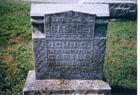 CASTLE, JOHN O - Logan County, Ohio   JOHN O CASTLE - Ohio Gravestone Photos