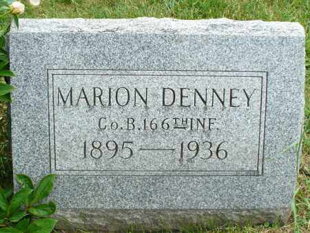 DENNEY, MARION - Logan County, Ohio | MARION DENNEY - Ohio Gravestone Photos