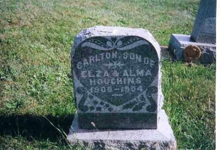 HOUGHINS, CARLTON - Logan County, Ohio | CARLTON HOUGHINS - Ohio Gravestone Photos
