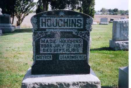 HOUGHINS, MAGGIE - Logan County, Ohio | MAGGIE HOUGHINS - Ohio Gravestone Photos