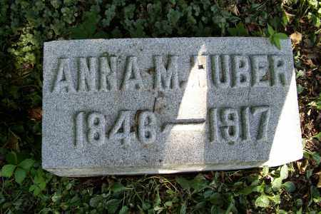 HALL HUBER, ANNA M. - Logan County, Ohio | ANNA M. HALL HUBER - Ohio Gravestone Photos