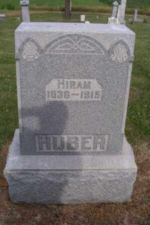 HUBER, HIRAM - Logan County, Ohio | HIRAM HUBER - Ohio Gravestone Photos