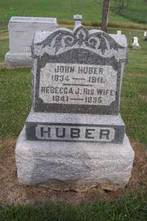 HUBER, JOHN - Logan County, Ohio | JOHN HUBER - Ohio Gravestone Photos