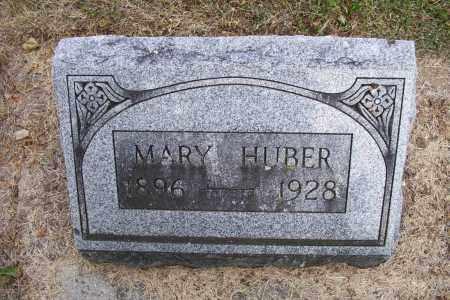 HUBER, MARY - Logan County, Ohio   MARY HUBER - Ohio Gravestone Photos