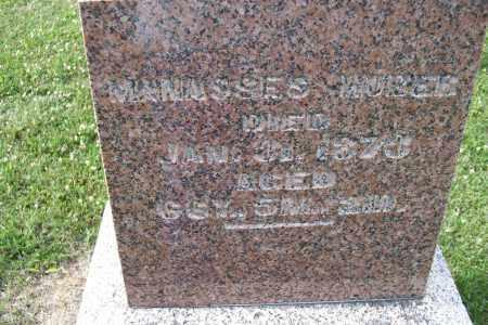 HUBER, MANASSES - Logan County, Ohio | MANASSES HUBER - Ohio Gravestone Photos