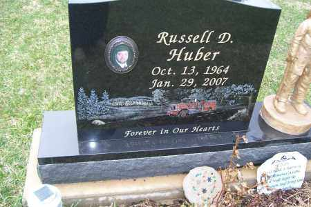 HUBER, RUSSELL D. - Logan County, Ohio   RUSSELL D. HUBER - Ohio Gravestone Photos