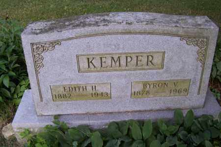 HUBER KEMPER, EDITH - Logan County, Ohio | EDITH HUBER KEMPER - Ohio Gravestone Photos