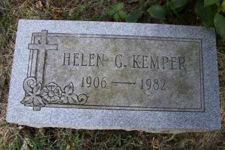 KEMPER, HELEN G. - Logan County, Ohio | HELEN G. KEMPER - Ohio Gravestone Photos