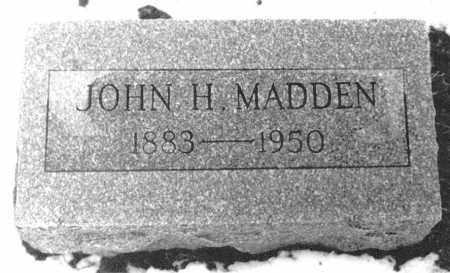 MADDEN, JOHN HENRY - Logan County, Ohio | JOHN HENRY MADDEN - Ohio Gravestone Photos