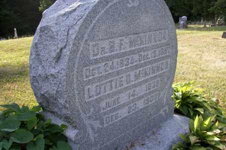 MCKINNON, LOTTIE D. - Logan County, Ohio | LOTTIE D. MCKINNON - Ohio Gravestone Photos