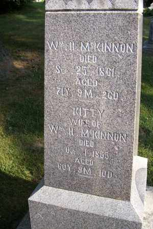 MCKINNON, WM. H. - Logan County, Ohio   WM. H. MCKINNON - Ohio Gravestone Photos