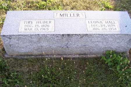 HALL MILLER, LEONA - Logan County, Ohio | LEONA HALL MILLER - Ohio Gravestone Photos