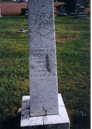 RENICK, JAMES - Logan County, Ohio | JAMES RENICK - Ohio Gravestone Photos