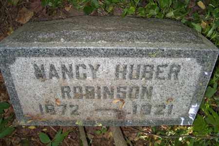 HUBER ROBINSON, NANCY - Logan County, Ohio | NANCY HUBER ROBINSON - Ohio Gravestone Photos