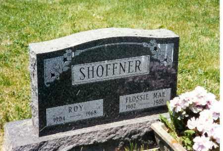 SHOFFNER, FLOSSIE MAE - Logan County, Ohio | FLOSSIE MAE SHOFFNER - Ohio Gravestone Photos